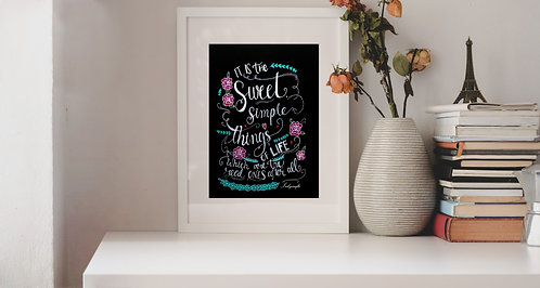 Chalkboard Art Collection - Set of 3
