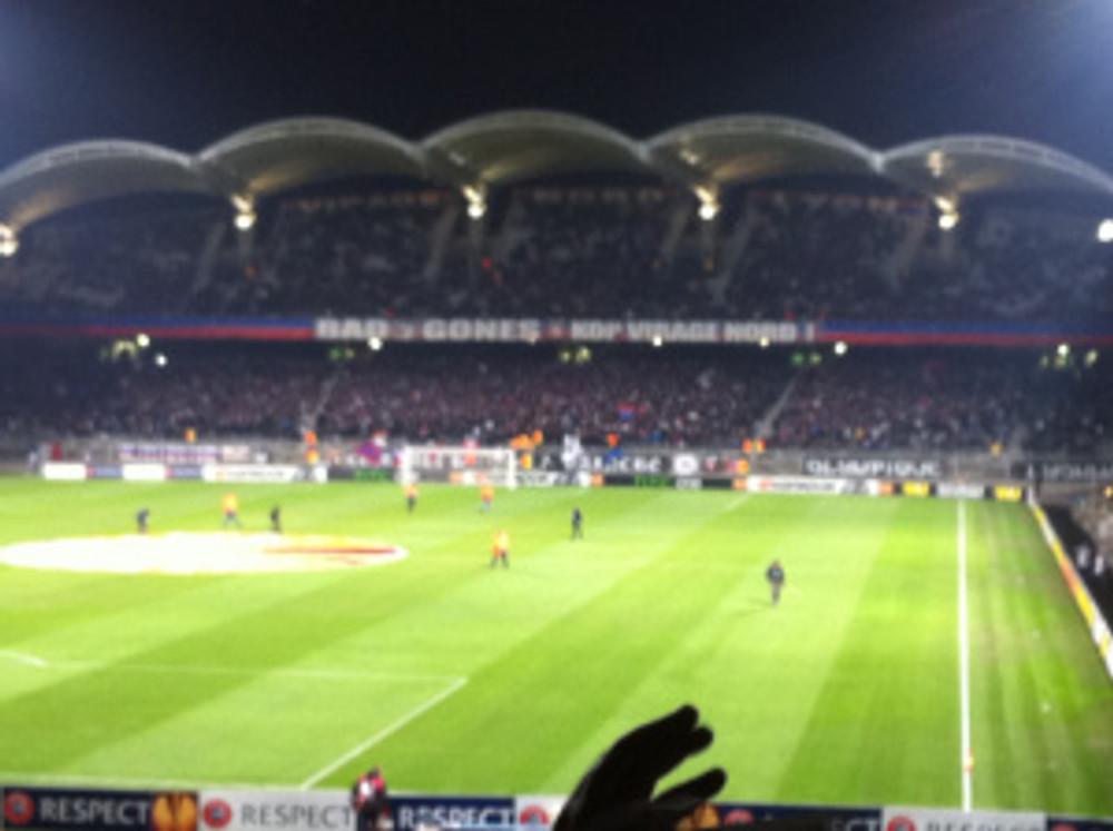 Away end Stade de Gerland