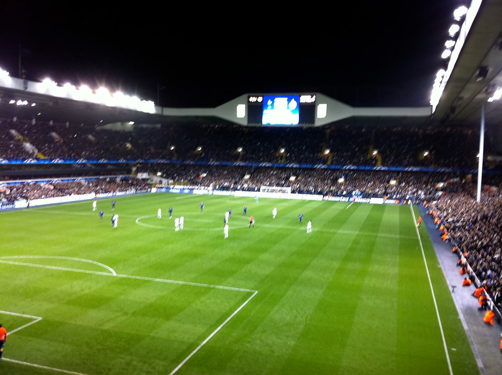 MAtch day at White Hart Lane