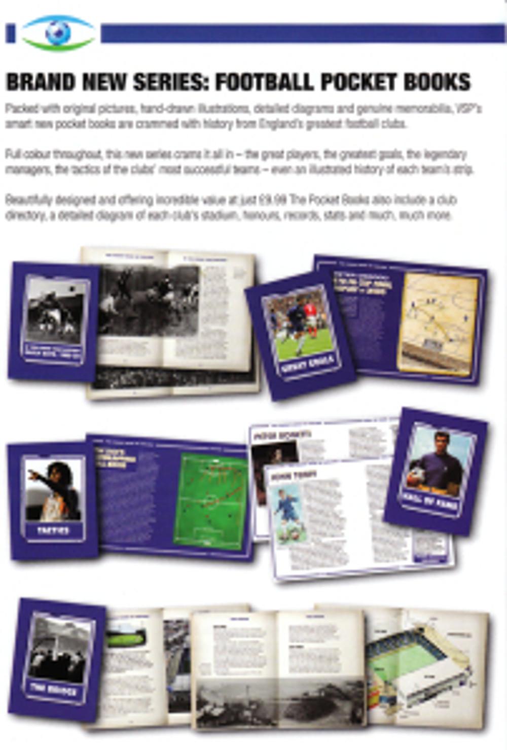VSP Autumn 2009 catalogue page showing Pocket books