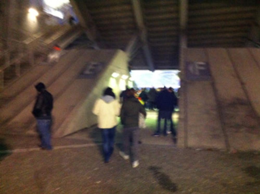 Stade de Gerland tunnel