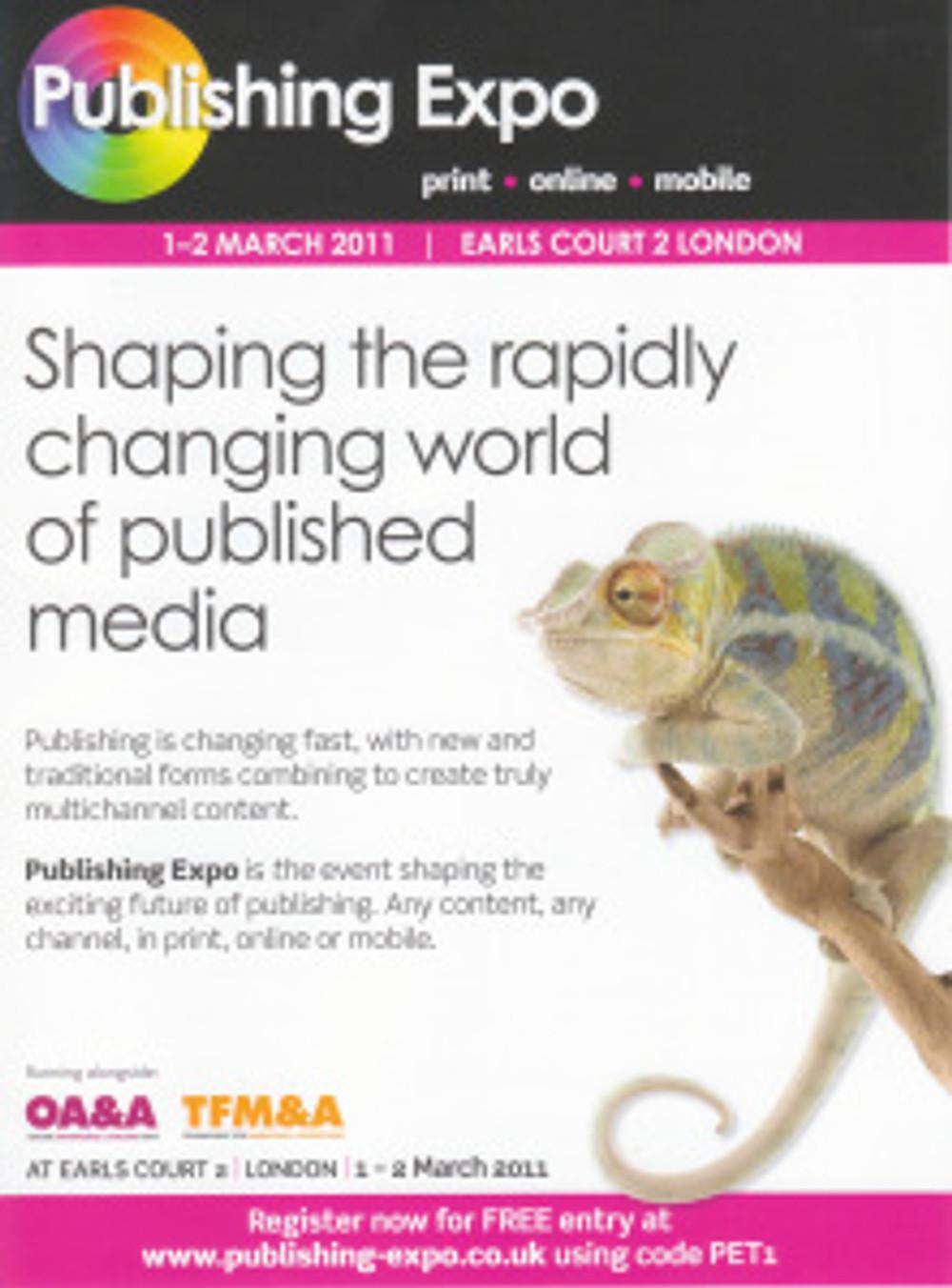 Publishing Expo poster