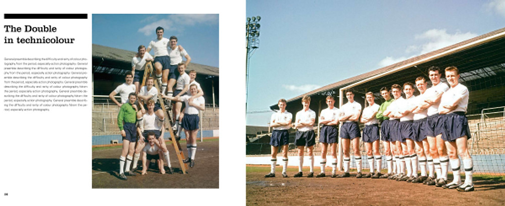Colour Spread from 61 The Spurs Double