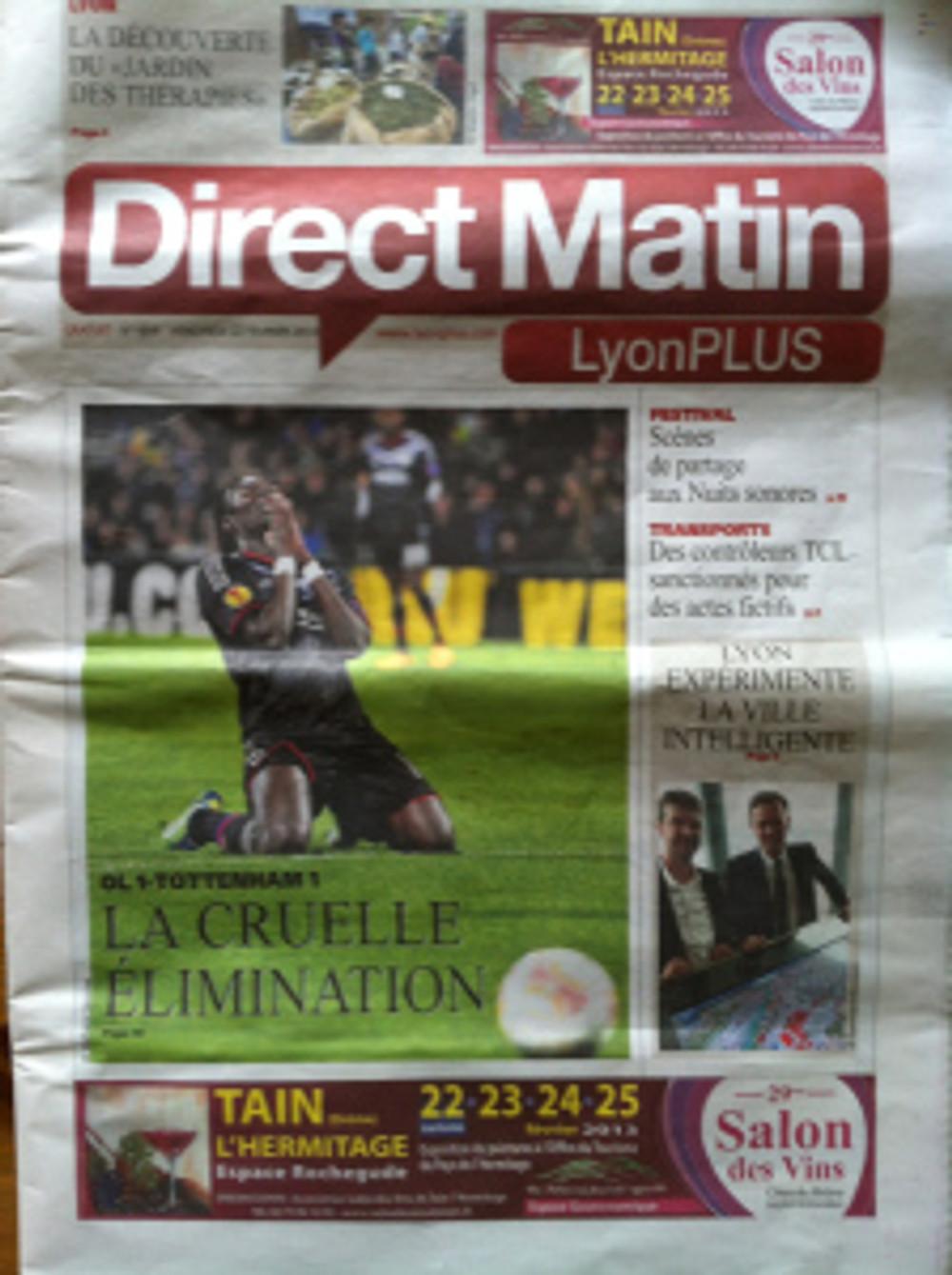 Direct AMtin front page