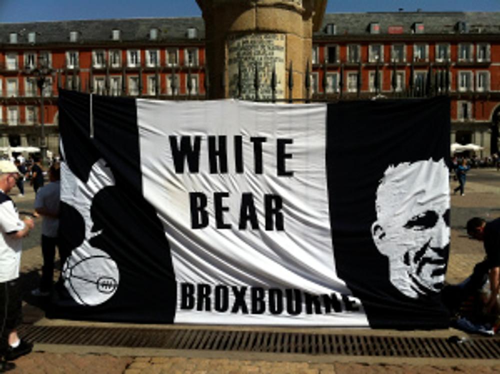 White Bear THFC flag