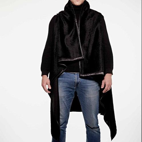 Easy Vest Black Llama