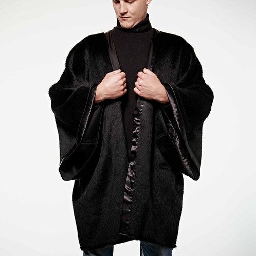 Kimono Black Llama