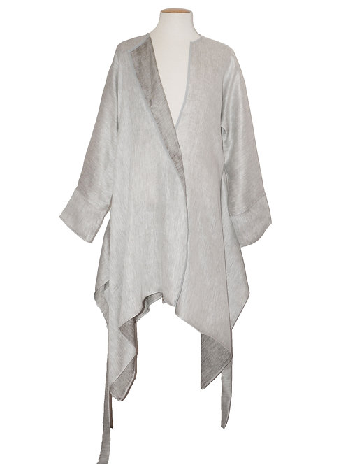 Tunic Double Face Gray