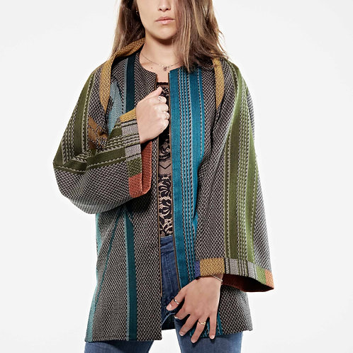 Two Pieces Jacket Jaquart