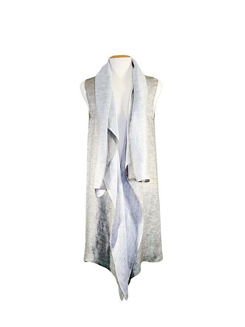 Summer Vest Double Linen