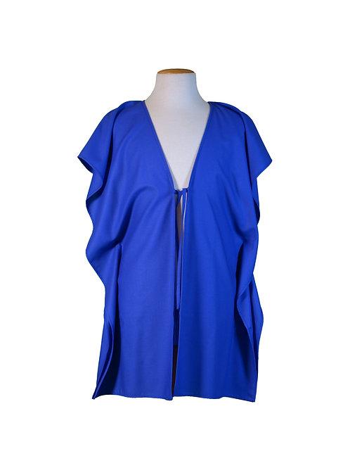 kaftan vest midnight blue