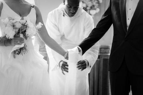 Ceremony union cloth