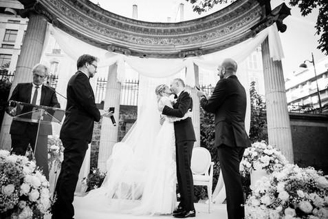 Ceremony in Paris