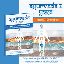 Instagram post for book ayuveda and yoga