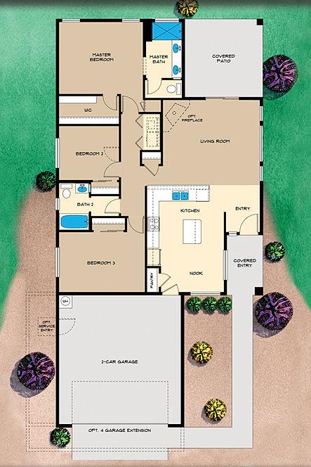 Universal Homes At Granville Prescott Valley S Favorite