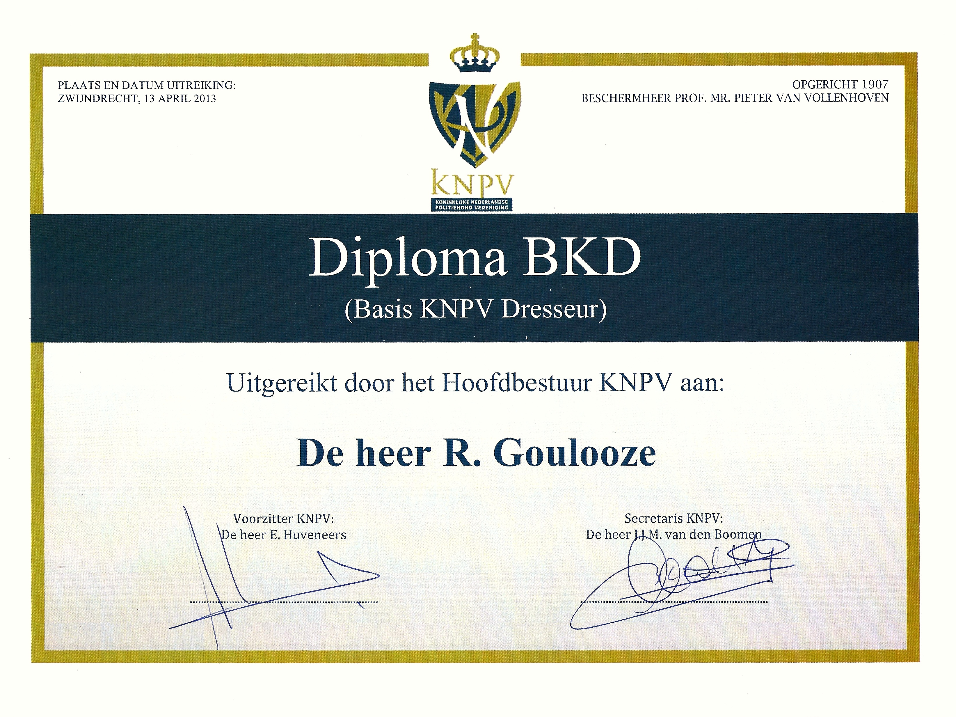 BKD Ruud Goulooze