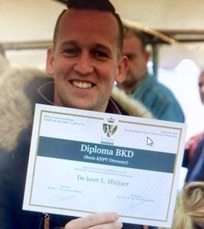 Diploma BKD voor Lennart
