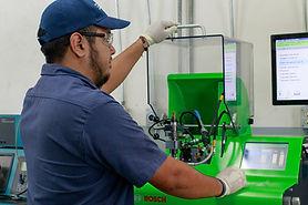 Calibración deinyectores diesel
