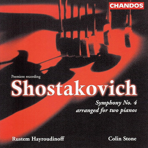 Shostakovich Symphony No. 4 (2 piano version)