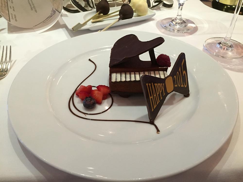 My New Year dessert