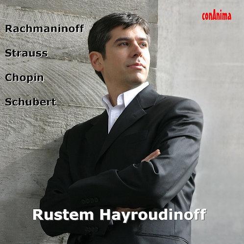 Rachmaninoff, Strauss,Chopin, Schubert