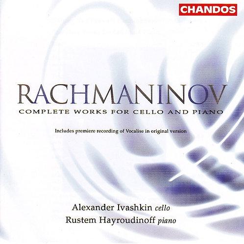 Rachmaninov Complete Works For Cello & Piano