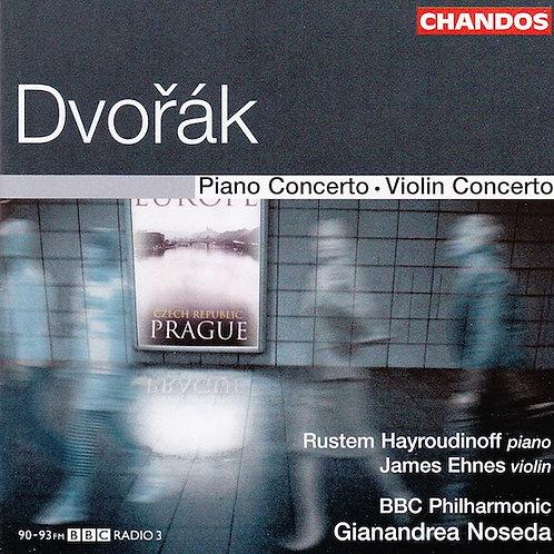 Dvorak Piano & Violin concertos (BBC Phil/Noseda)