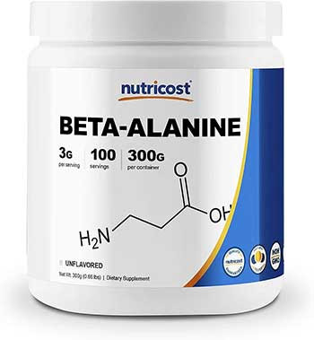 Product review Nutricost Beta-Alanine