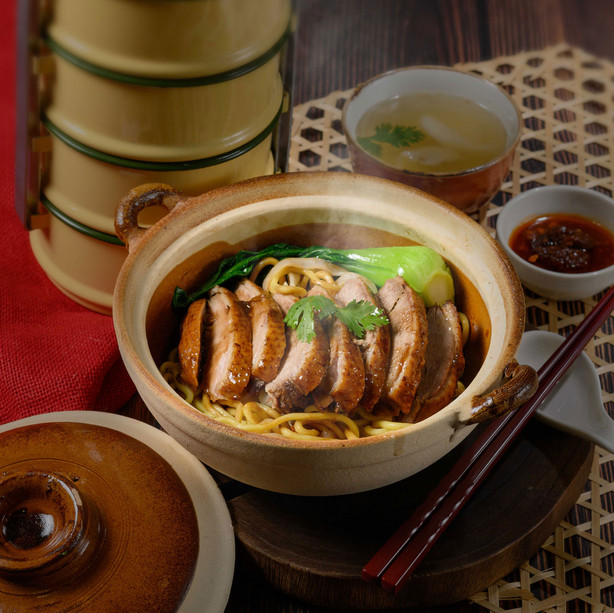 Classic Braised Duck Noodle