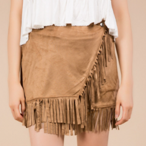 Oakley Fringed Skirt