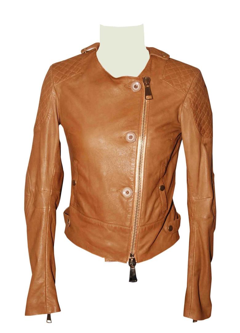 Vegetable Washed Leather Jacket