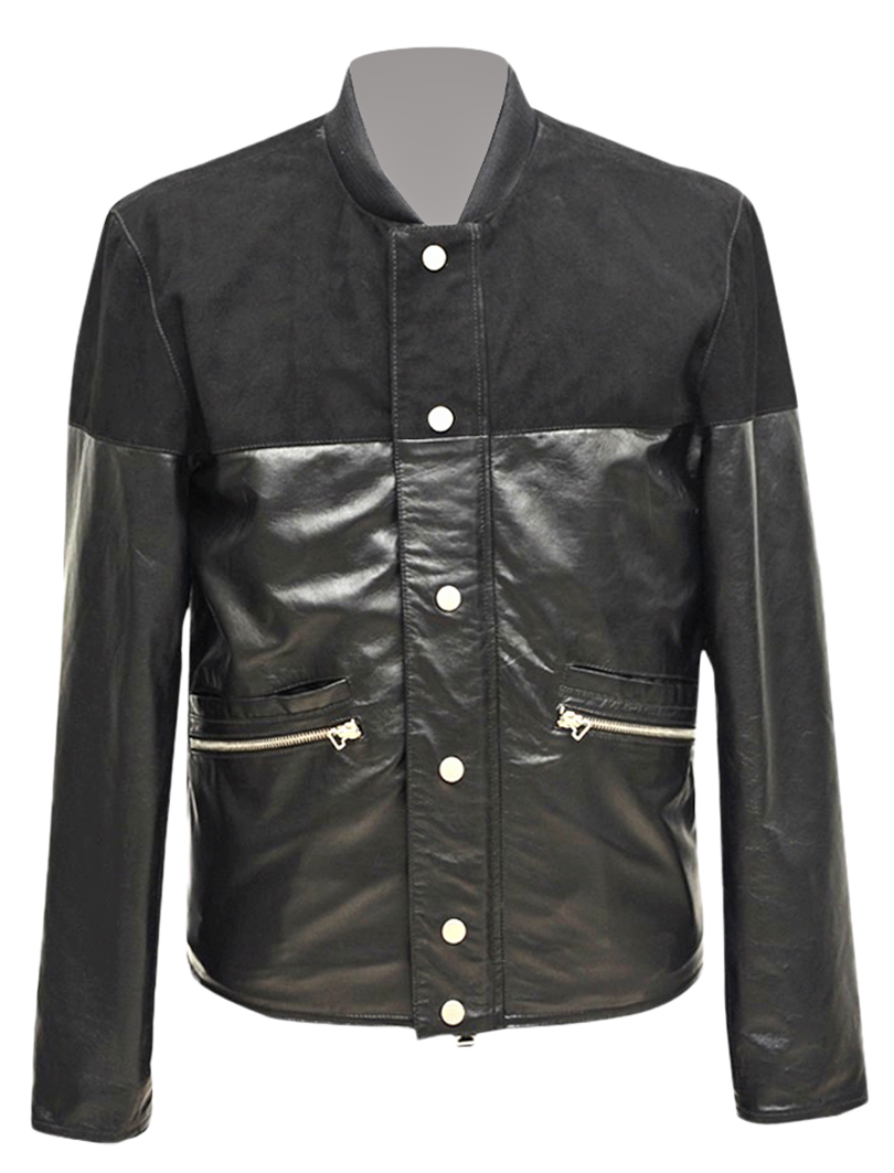 Nappa Suede Mix Jacket