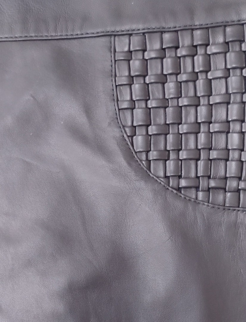 Hand Knitted Leather