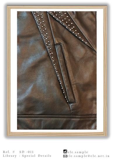Embelished Leather