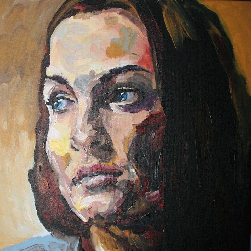 Portretschilderij Maartje