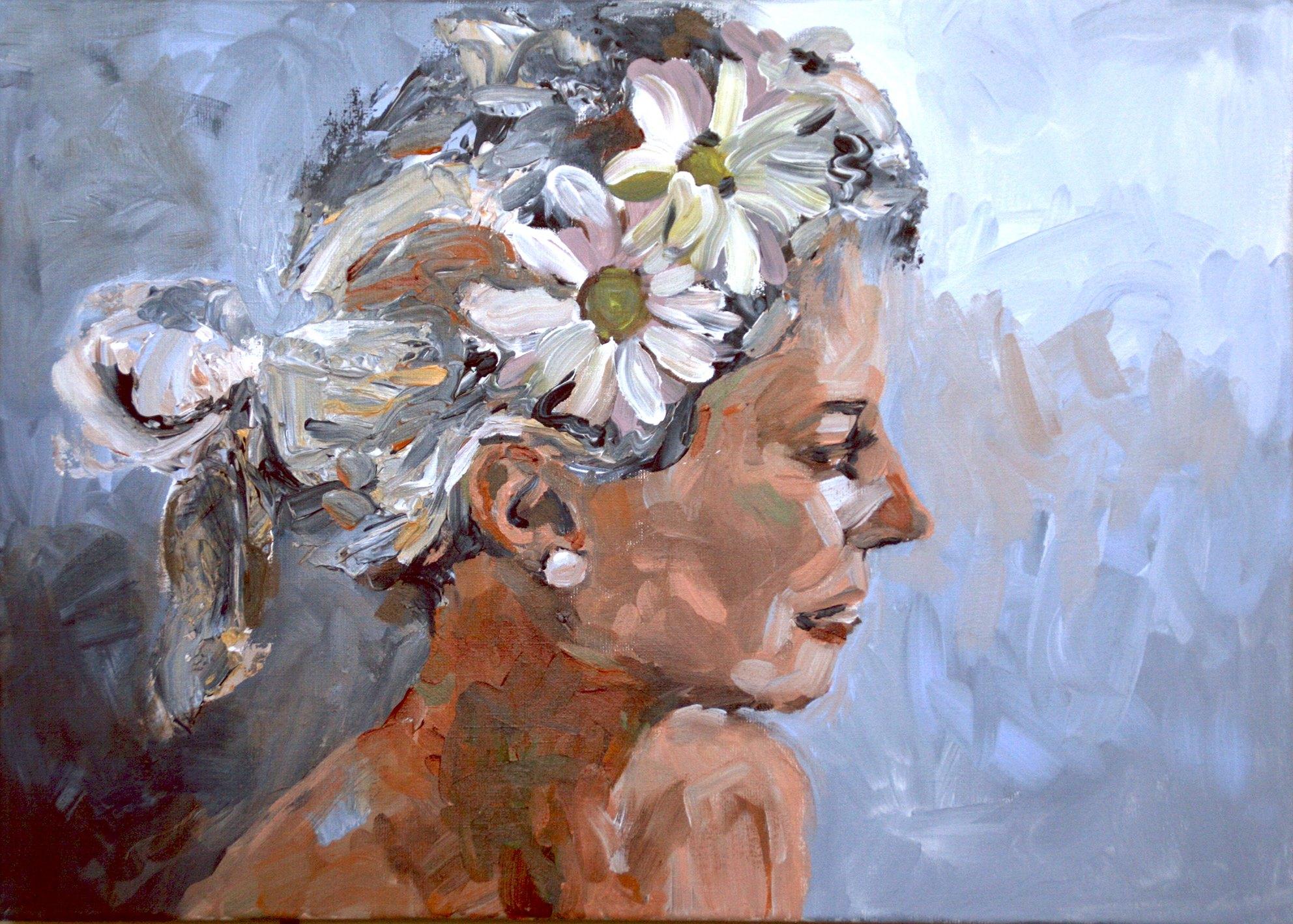 Schilderij Blossom