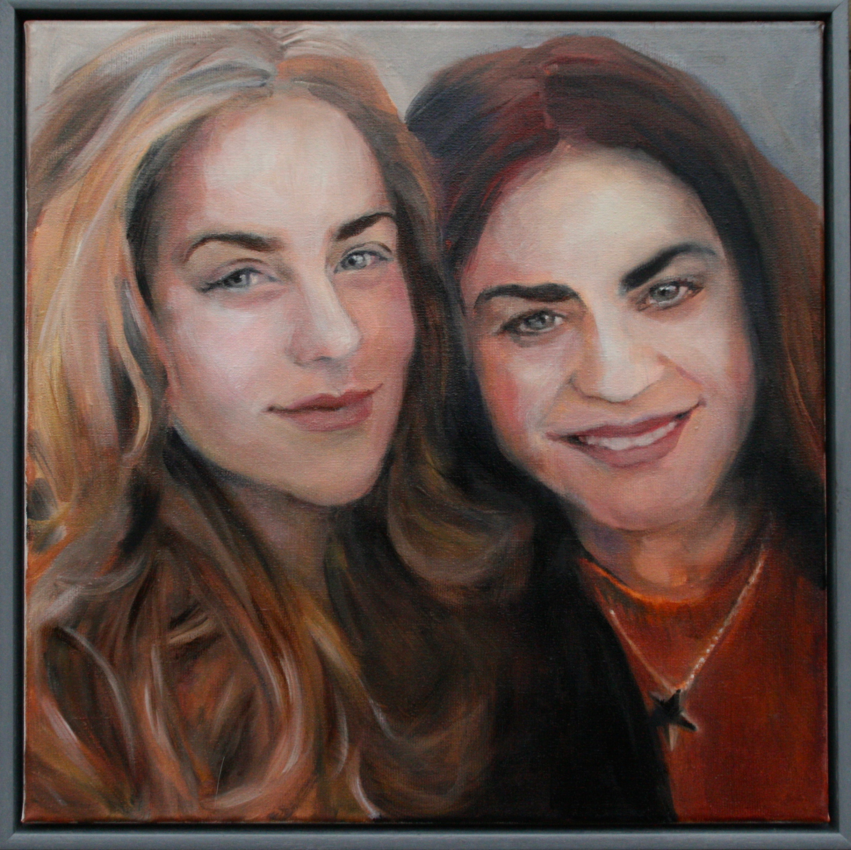 Claudine en dochter