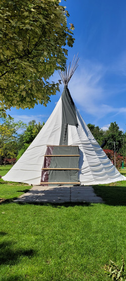 Front of Tipi