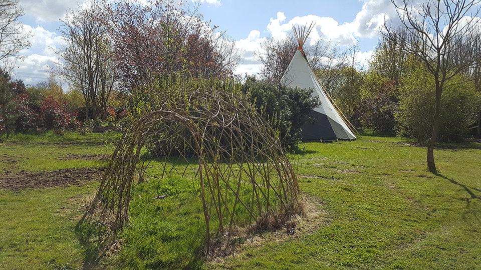 Secret Garden: The Secret Garden,touring Caravan,glamping & Camping In