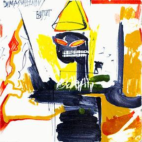 SULTANOV DMITRII | Majolica | Basquiat series / 13Y