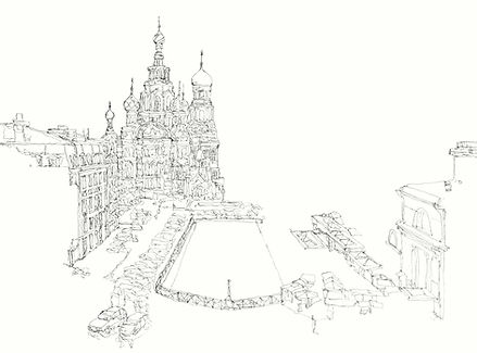 SULTANOV DMITRII | Sketches | CITIES #3 / 17Y
