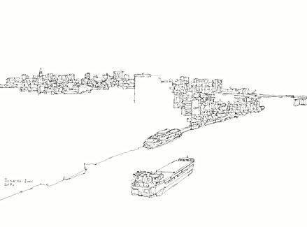 SULTANOV DMITRII | Sketches | CITIES #3 / 17Y