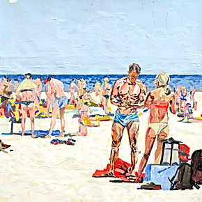 SULTANOV DMITRII | Painting | Beach Life | 17–18Y