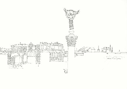 SULTANOV DMITRII | Sketches | CITIES #4 / 17Y