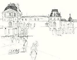 SULTANOV DMITRII   Sketches   CITIES #2 / 14Y