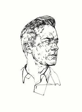 SULTANOV DMITRII   Sketches   Portraits / 17Y