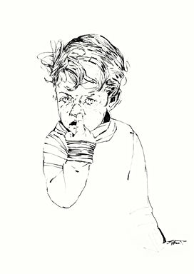 SULTANOV DMITRII | Sketches | Portraits / 17Y