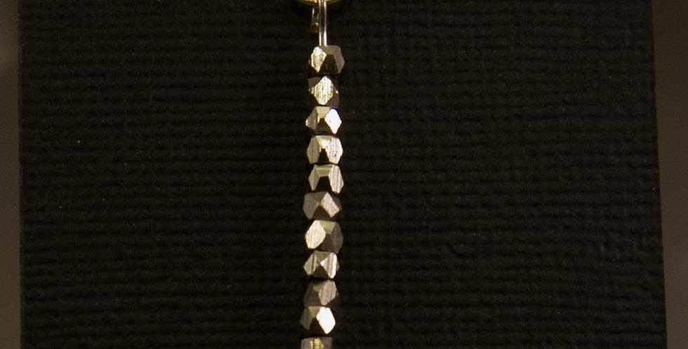 space silver pendant