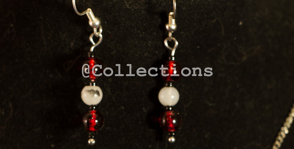 white and red beadbar