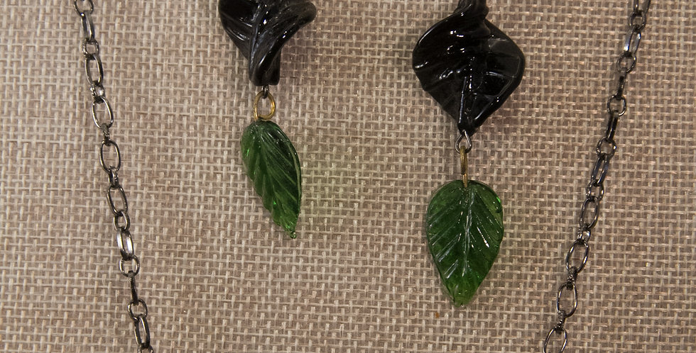 Leaf bead bar set